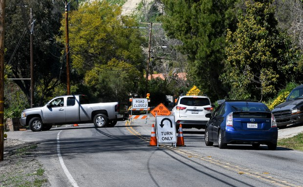 Road that connects Hacienda Heights to Orange County closed