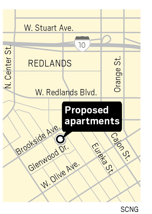 Loss of makeshift parking lot for planned apartment complex