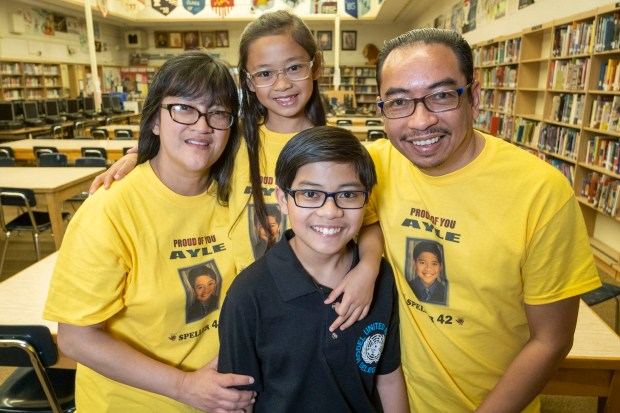 Winnetka middle-schooler is on his way back to Scripps Spelling Bee