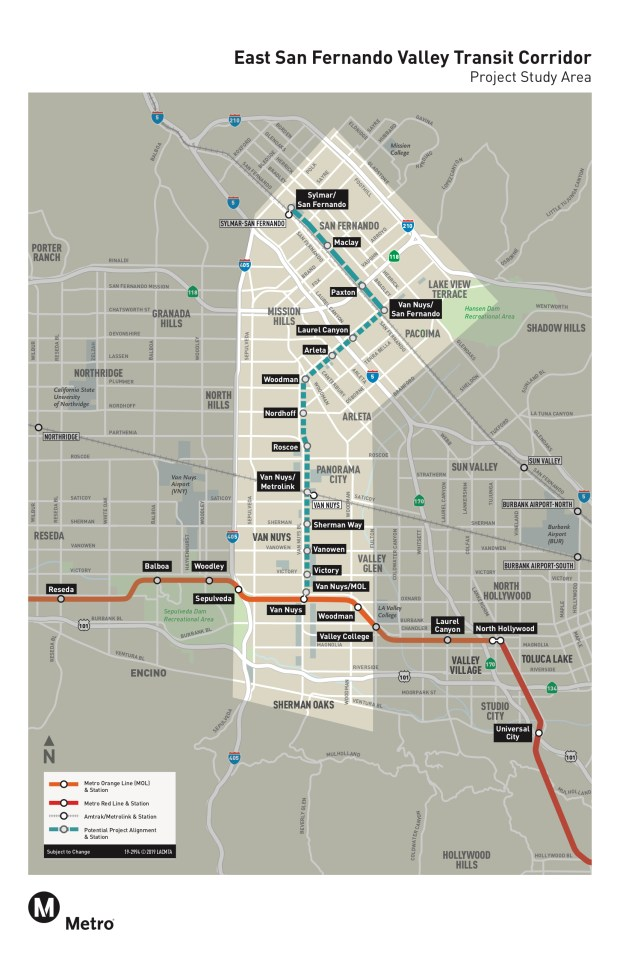 Santa Monica Subway Map.Here Are 6 San Fernando Valley Transportation Projects That Will