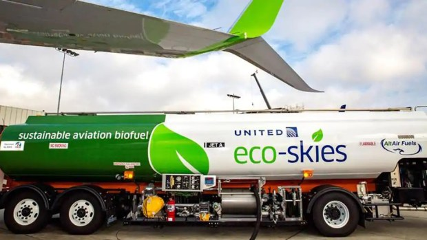 United Airlines is slated to announce Wednesday, June 5, 2019, at LAX that it will purchase 10 million gallons of sustainable aviation biofuel. (Courtesy photo)