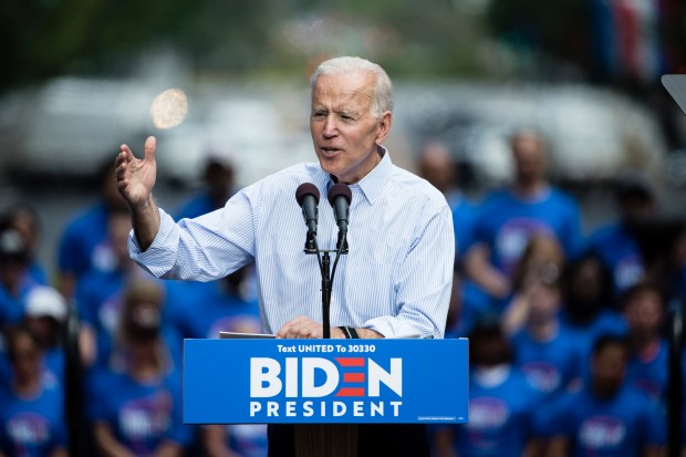 Two oldest Democrat contenders, Sanders and Biden, are close in age; their supporters are not