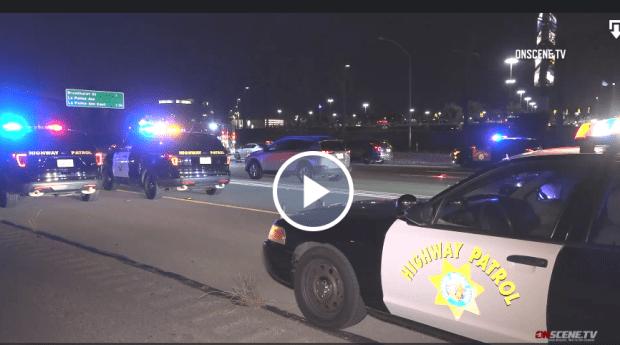 Driver killed running across freeway in Anaheim identified