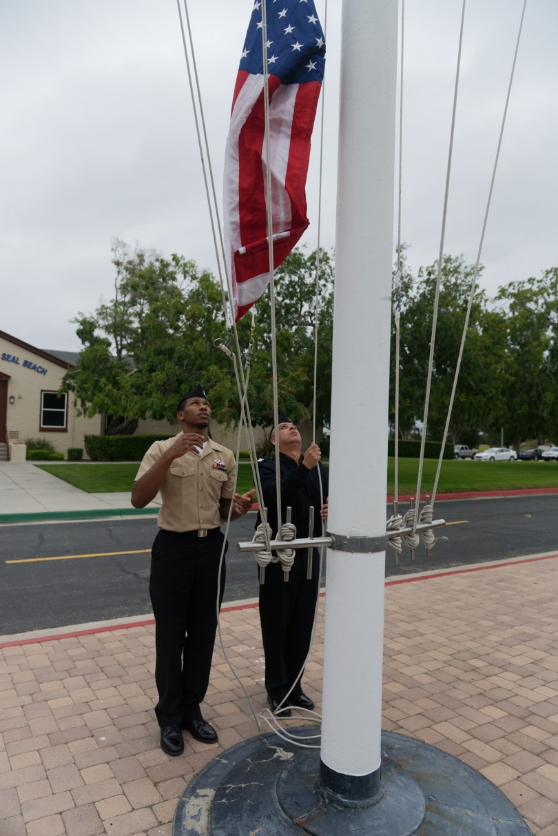 'Star-Spangled Banner' blasted at high volume surprises residents, repeatedly, in Seal Beach and beyond