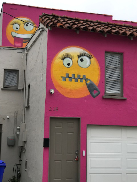 This pink Emoji house is causing quite the stir in Manhattan Beach