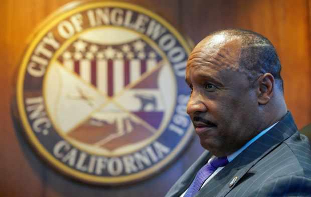 Inglewood mayor's ex-girlfriend wants $12 million for post-breakup firing