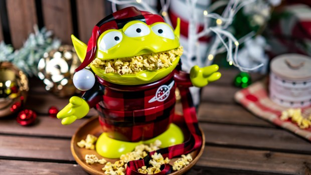 Disneyland Rolls Out A New Lineup Of Holiday Popcorn