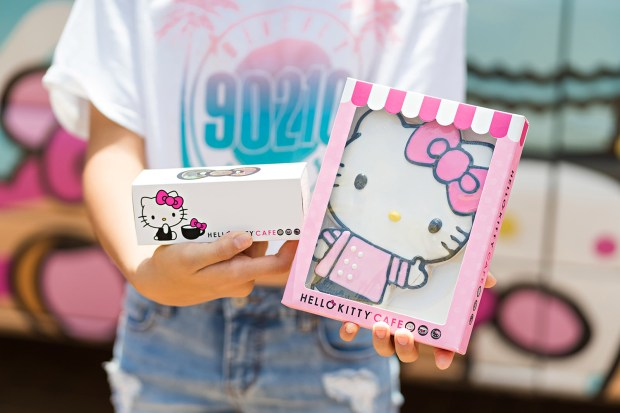 Say hi to the Hello Kitty truck: Cafe on wheels is coming to Northridge