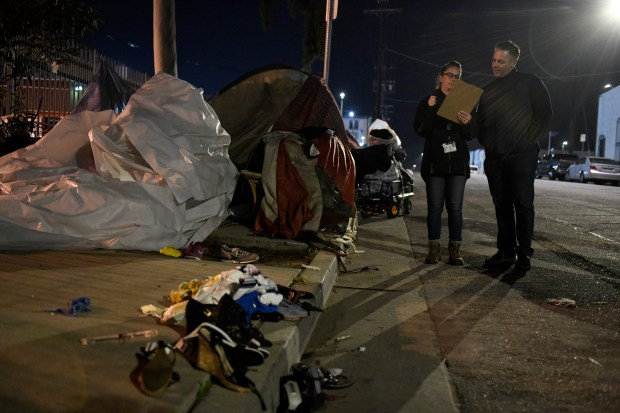 Garcetti says LA to partner with Feds to address homelessness
