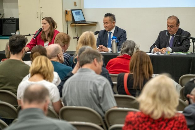 LA CD12 City Council candidates grilled by students, audience at West Hills forum