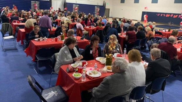 West Hills seniors share the love at Valentine's Day event