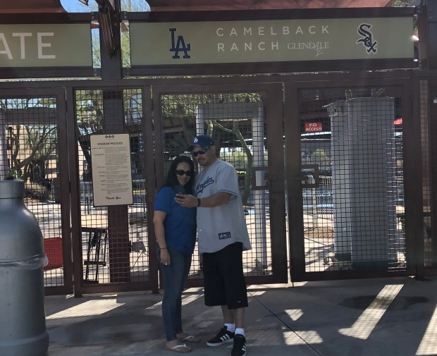 Frustrated Dodgers, Angels fans make the most of spring-training trips – no thanks to coronavirus