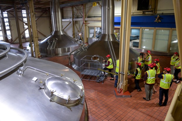 Anheuser-Busch to make hand sanitizer to fight coronavirus at its Van Nuys plant