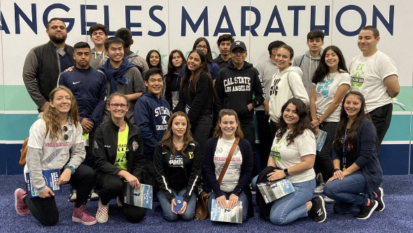 Program helps students learn to set goals by competing at LA Marathon