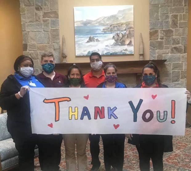 La Mirada pair rallies Facebook army to make 500+ masks to help hospitals battle coronavirus