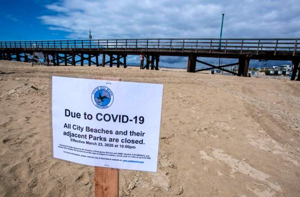 A wave of Southern California beach headlines swept in during 2020