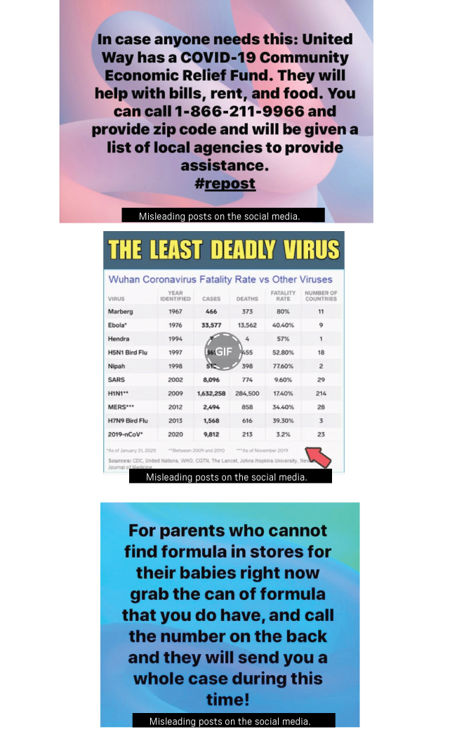 How to spot coronavirus misinformation and where to go for the truth