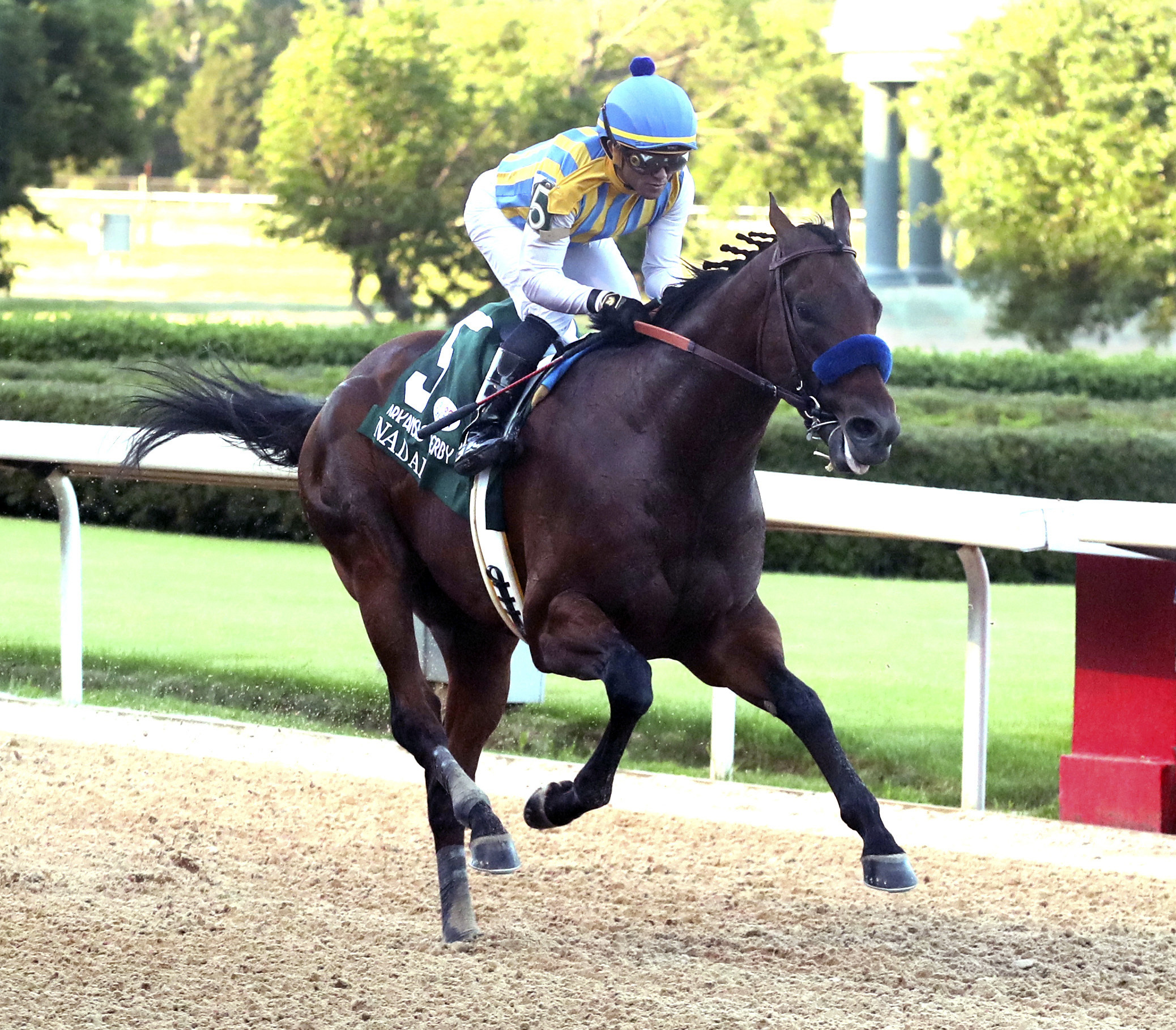 Charlatan, Nadal give trainer Bob Baffert sweep in Arkansas Derby