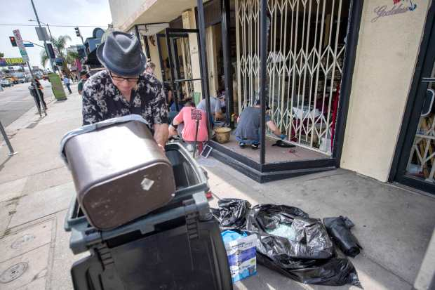 LA businesses pick up the shattered pieces, with help from good Samaritans