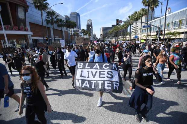 Day 6: LA County, shaken by protests, readies for more, a week after George Floyd's death