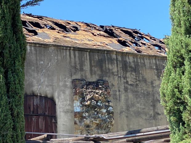 Fire destroys most of iconic Mission San Gabriel