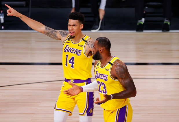 Lakers' Danny Green reveals how NBA players cope with mental toll of the bubble