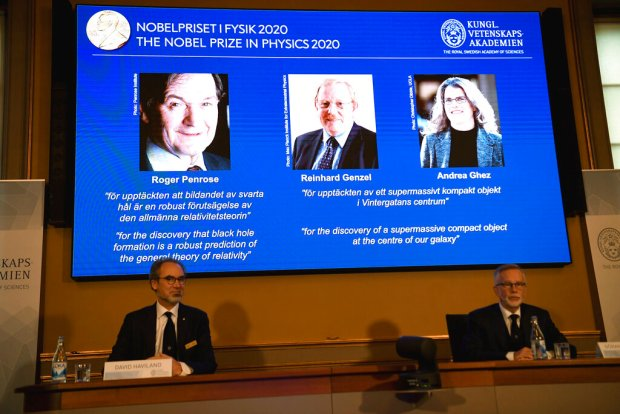 Don't be afraid of mistakes, says UCLA professor, fourth woman to win Nobel Prize in physics