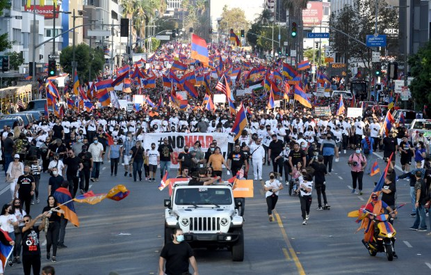 L.A. Supervisors support Armenians, condemn Azerbaijan's military operations in Artsakh