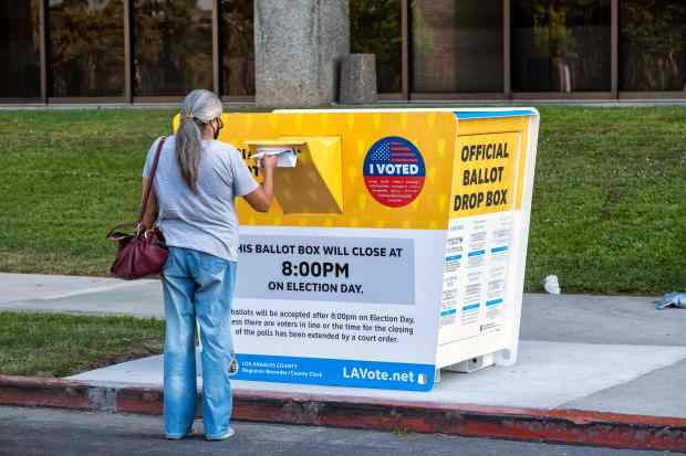Elections 2020: In L.A. County, what happens to your ballot once you drop it off at a box?