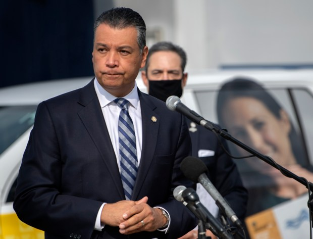 Alex Padilla, California's first Latino senator, on needing to 'walk and chew gum' in Washington
