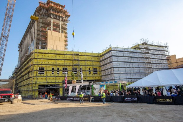 Casino Insider: Why one part of San Manuel Casino's big expansion will be delayed