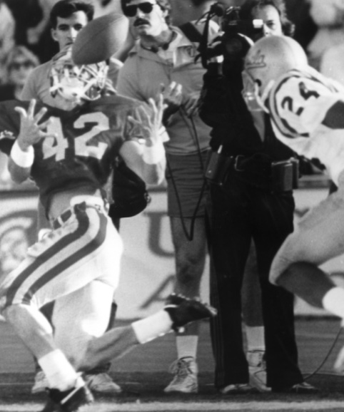 Whicker: Erik Affholter has more on his mind than a catch in 1987