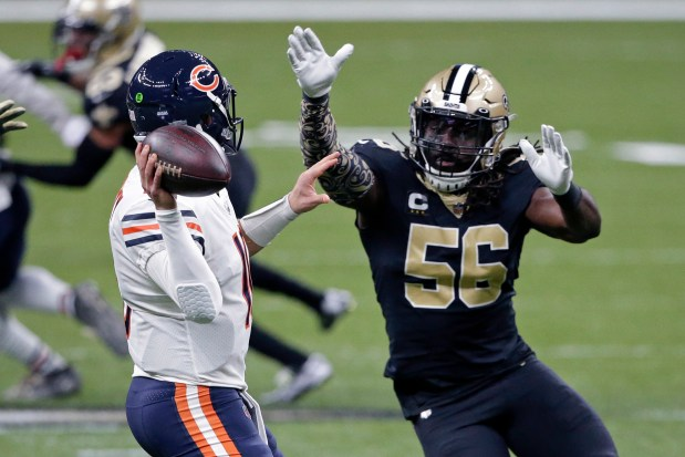 Drew Brees, Saints pull away late for 21-9 playoff win over Bears