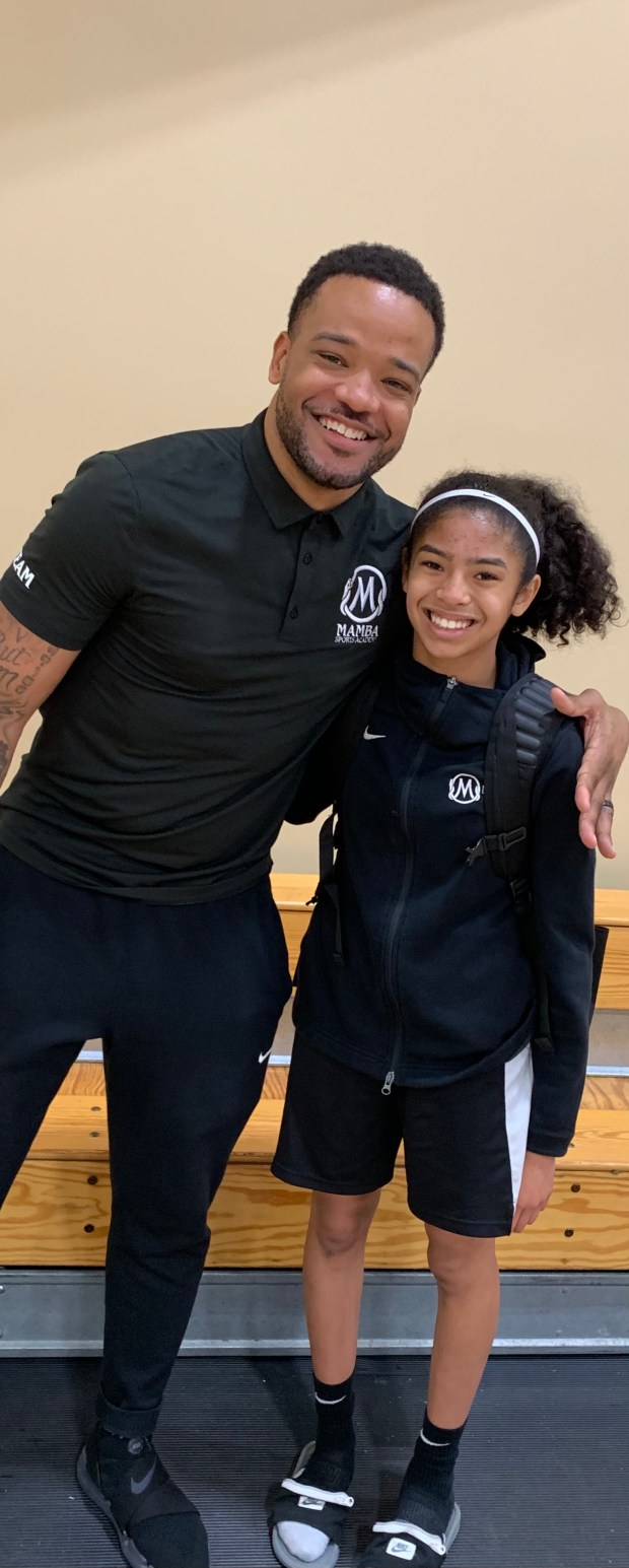AJ Moye reflects on going from Kobe Bryant fan to working at his Sports Academy