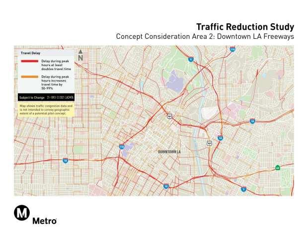 Metro congestion pricing sites, concept 2
