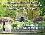 Rosary for Peace, Sunday, May 3