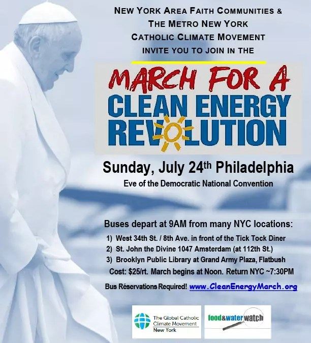 March for Clean Energy Revolution