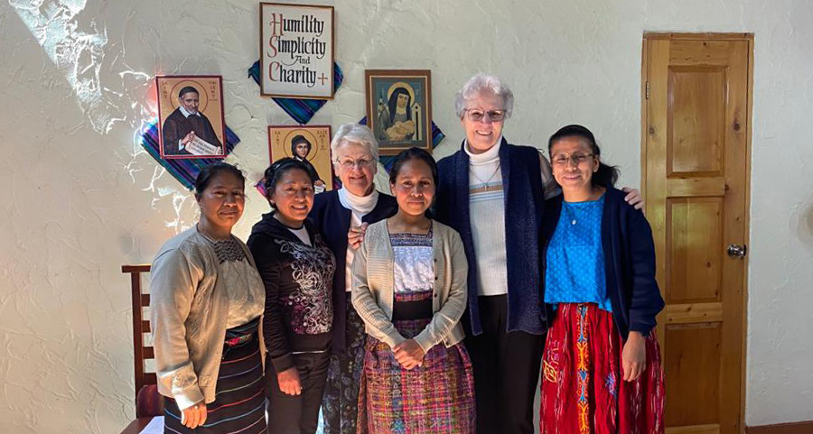 A Different Inauguration — Margarita Chóc Caál and Sr. María Pablo Andrés Santos Enter the Congregation of the Sisters of Charity