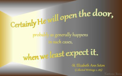 Opening Doors as Reminders of God's Grace