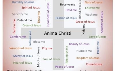 Mother Seton's Anima Christi