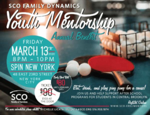 Mentorship Fundraiser at SPIN