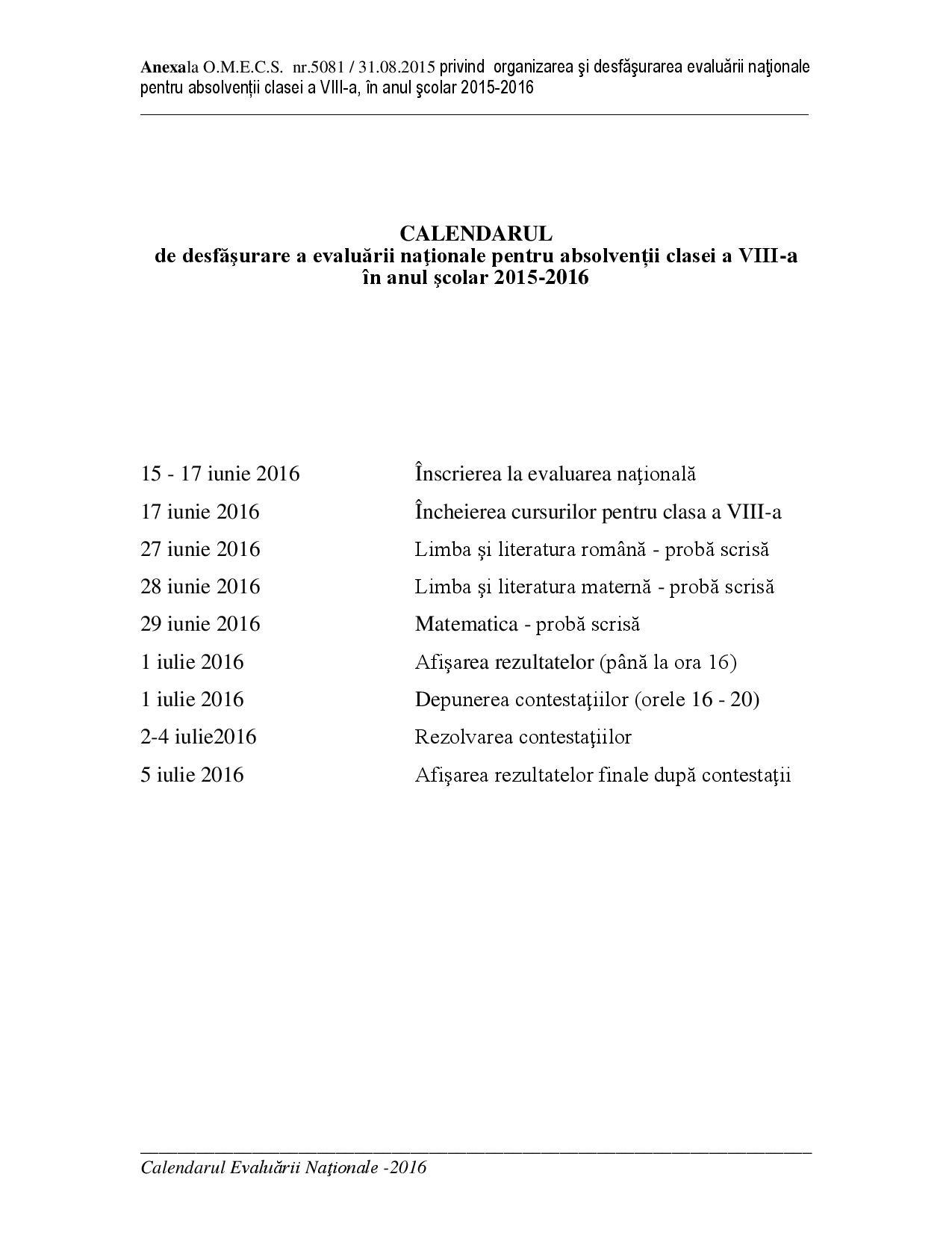 Anexa ordin_CALENDAR_evaluare nationala 2016-page-001