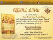 Concurs Sfintii - III
