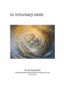 in voluntary exile cover front scott bywater poetry
