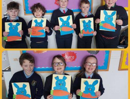 Easter Art – Rang 1 & 2