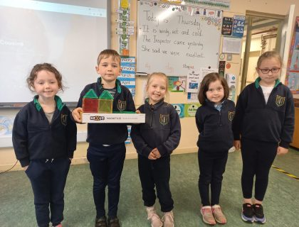 Senior Infants – Shape and Space