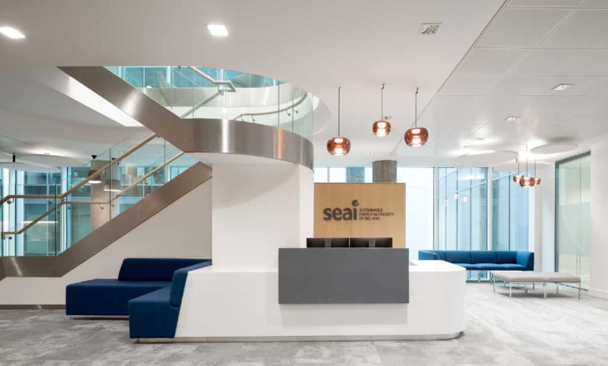 SEAI Reception Fit-Out, Three Park Place, Cost Management Services