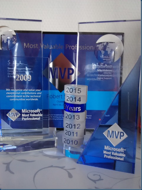 Microsoft Most Valued Professional Award – Robert Smit Cloud and Datacenter Management MVP