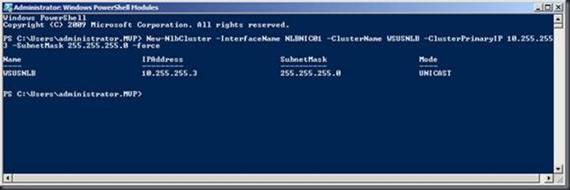 WSUS 3.0 SP2 With Powershell NLB on windows 2008 R2 what can go wrong