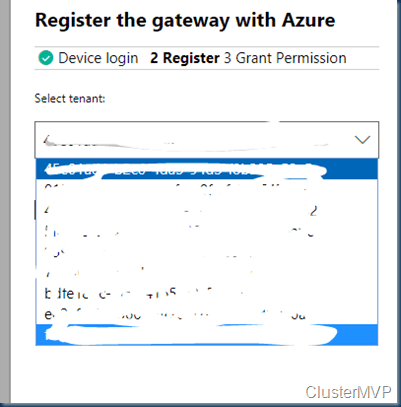 Windows Admin Center Azure Connection